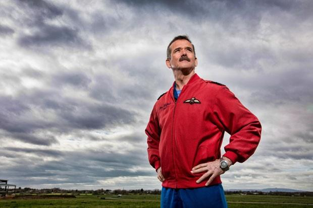 chris hadfield, toughest job in the universe