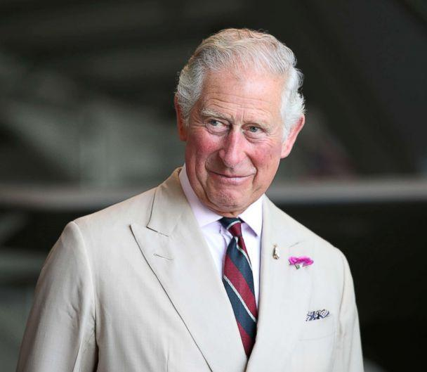 PHOTO: Britain's Prince Charles visits RAF base in Norfolk, England, July 27, 2018. (Chris Radburn/Reuters)