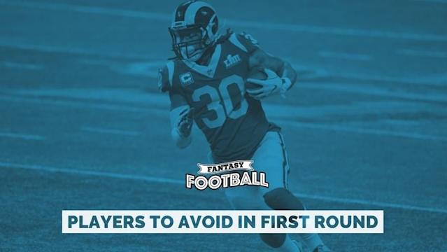 Fantasy football 2019: Players not worth drafting in the first round