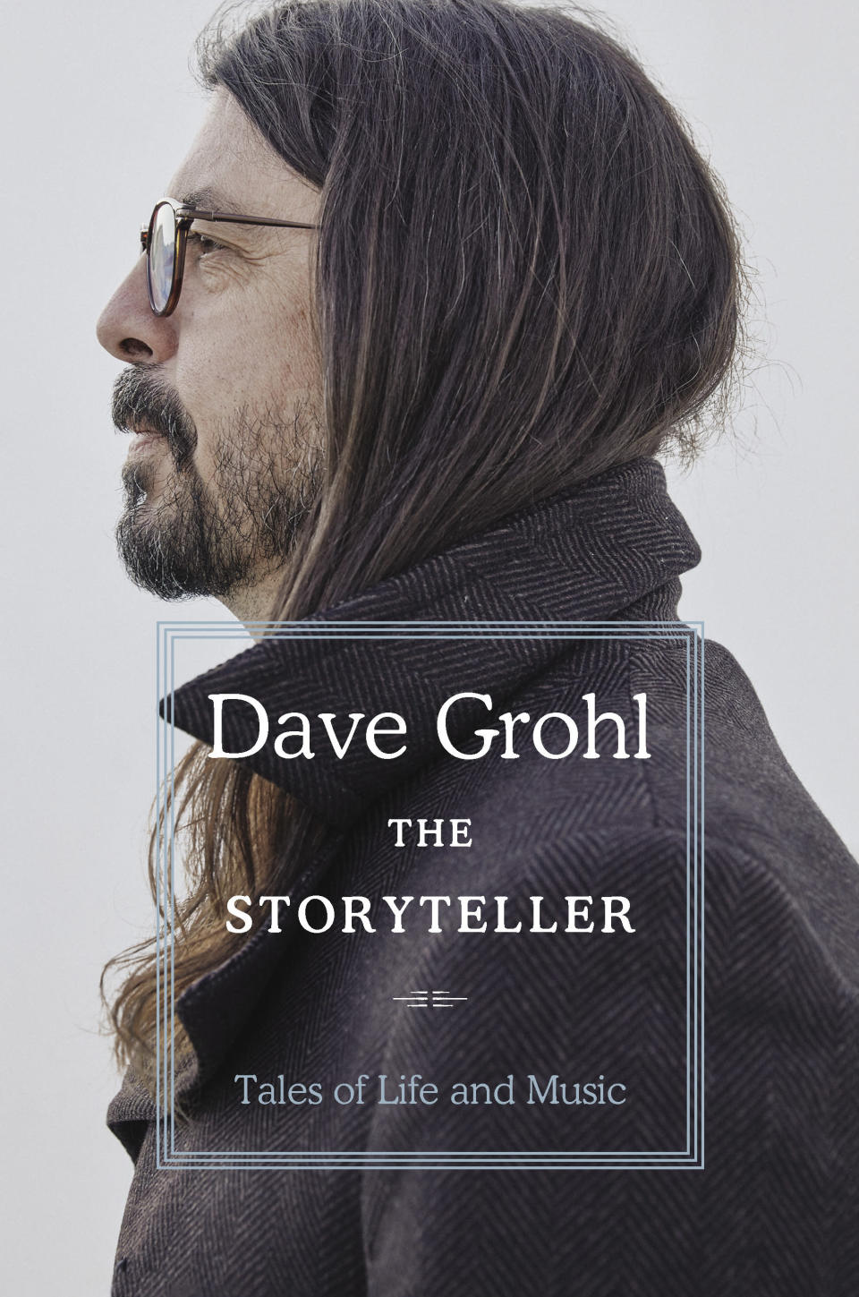 """This cover image released by Dey Street Books shows """"The Storyteller: Tales of Life and Music"""" by Dave Grohl, releasing Oct. 5. (Dey Street Books via AP)"""