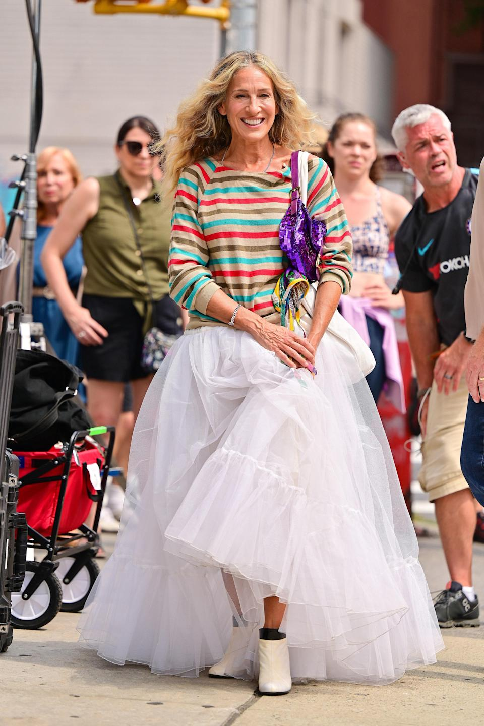 """<h1 class=""""title"""">Celebrity Sightings In New York City - August 27, 2021</h1><cite class=""""credit"""">Getty</cite>"""