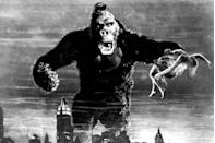 """<p>When your kid is ready to get into the big-monster-attacks-city genre, start at the beginning, with the groundbreaking 1933 <em>King Kong</em>. Even if they already know about Kong's climb up the Empire State Building, there are a lot of scares to be had on Skull Island, before he even gets to New York!<br></p><p><a class=""""link rapid-noclick-resp"""" href=""""https://www.amazon.com/King-Kong-Fay-Wray/dp/B001R6AW18?tag=syn-yahoo-20&ascsubtag=%5Bartid%7C10055.g.28038087%5Bsrc%7Cyahoo-us"""" rel=""""nofollow noopener"""" target=""""_blank"""" data-ylk=""""slk:WATCH ON AMAZON"""">WATCH ON AMAZON</a> <a class=""""link rapid-noclick-resp"""" href=""""https://go.redirectingat.com?id=74968X1596630&url=https%3A%2F%2Fitunes.apple.com%2Fus%2Fmovie%2Fking-kong-1933%2Fid353883051&sref=https%3A%2F%2Fwww.goodhousekeeping.com%2Flife%2Fentertainment%2Fg28038087%2Fbest-scary-movies-for-kids%2F"""" rel=""""nofollow noopener"""" target=""""_blank"""" data-ylk=""""slk:WATCH ON ITUNES"""">WATCH ON ITUNES</a></p>"""