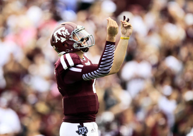 Johnny Manziel calls out Charlie Strong on Instagram (Photo)