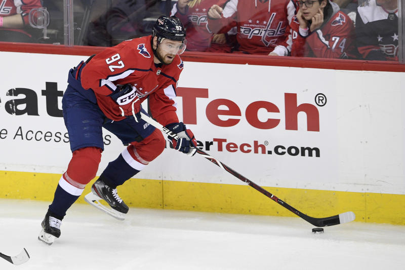 Capitals Kuznetsov Suspended Hockey