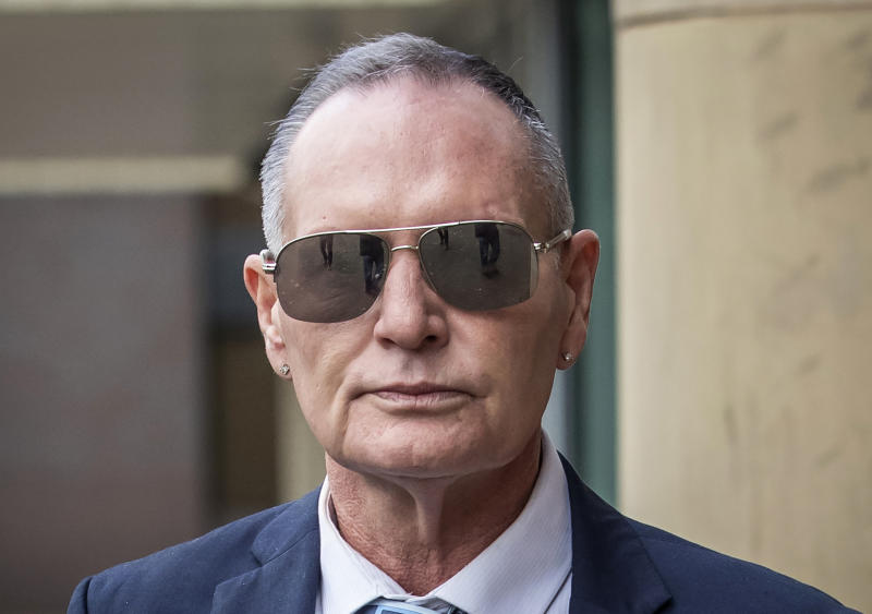 "File photo dated 15/10/19 of former football star Paul Gascoigne who has described his sex assault accusation and trial as a ""year of hell""."