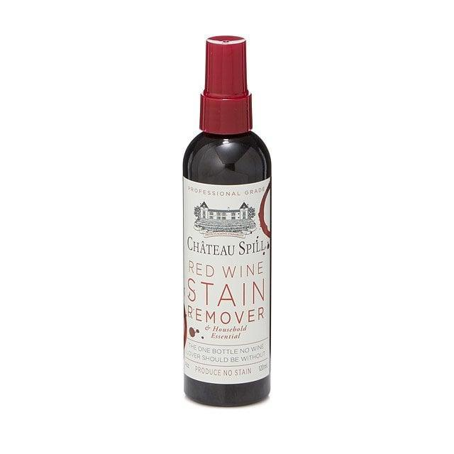 <p>They won't ever have to worry about spills on their favorite shirt or chair, thanks to this powerful <span>Red Wine Stain Remover</span> ($8), which is effective enough to tackle even the most stubborn wine. It's also easy to carry in their everyday bag.</p>