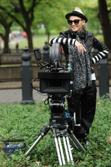 """Madonna directs 2011's """"W.E."""" in New York City's Central Park. <span class=""""copyright"""">(Kristin Callahan / Ace Pictures)</span>"""