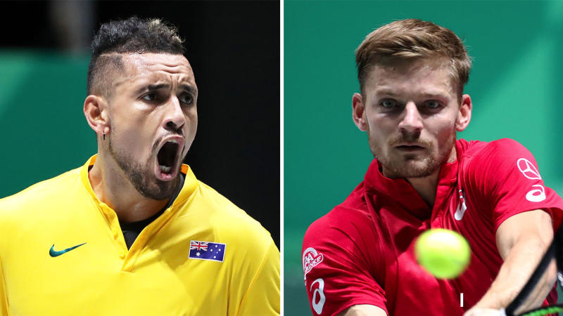 The Australian Davis Cup team has not defeated Belgium since 1991. (Getty Images)