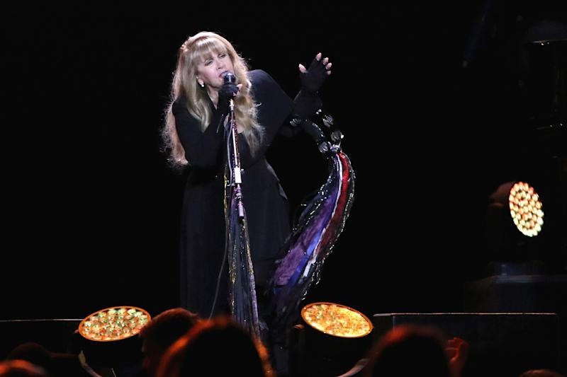 Stevie Nicks on her 24 Karat Gold Tour in 2017. (Photo: Dave Simpson/WireImage)