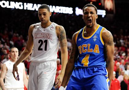 Will Norman Powell (R) and the Bruins go dancing? They've got work left. (USAT)