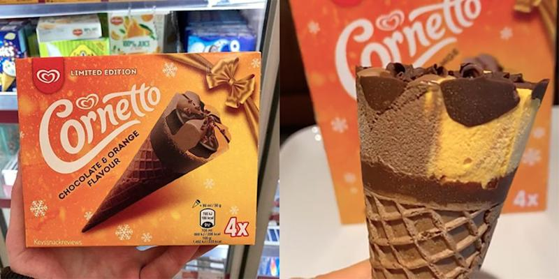 You Can Buy Orange Chocolate Cornettos From Morrisons