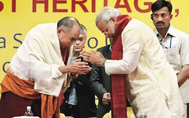 Dalai Lama has more security in Arunachal than PM Narendra Modi