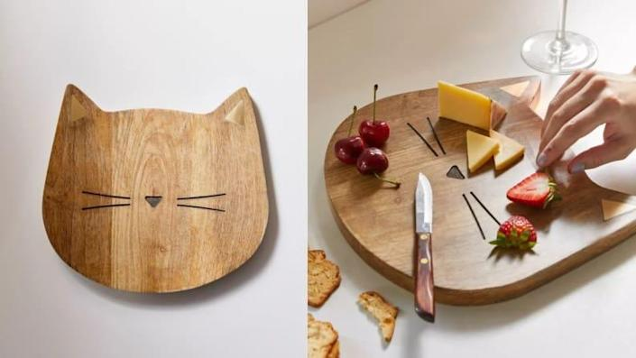 This serving board is sure to be a hit at your next gathering.