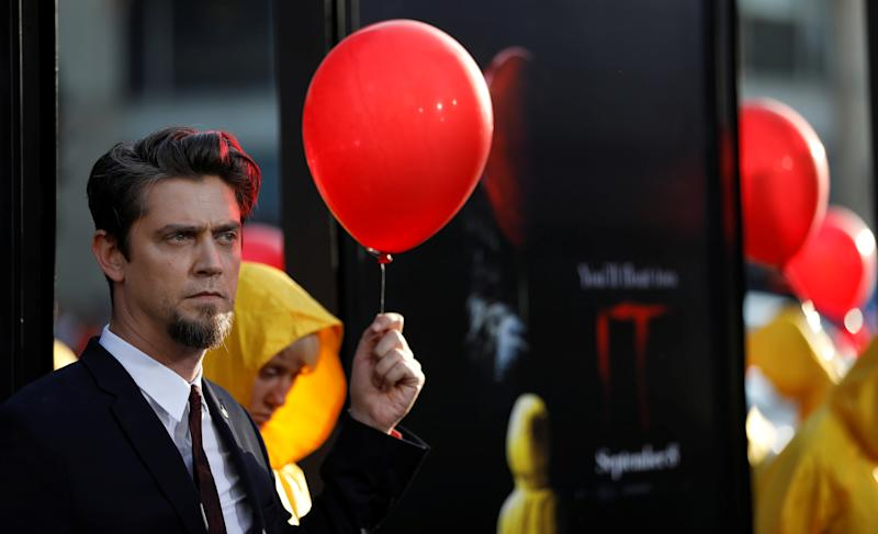"Director of the movie Andy Muschietti poses at the premiere for ""It"" in Los Angeles, California, U.S., September 5, 2017. REUTERS/Mario Anzuoni"