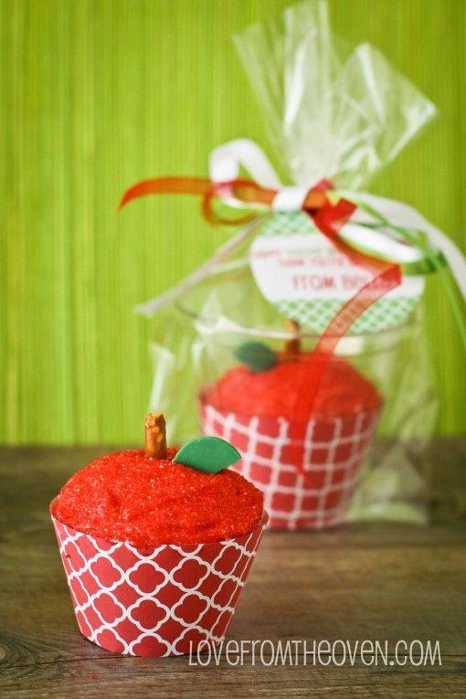 "<p>What's one of the first symbols to come to mind when thinking of teachers? Red apples, of course—making these apple cupcakes a great option for a teacher's retirement party.</p><p><strong>See the tutorial at </strong><a href=""https://www.lovefromtheoven.com/apple-for-the-teacher-cupcakes-teacher-appreciation-treats-and-free-printables/"" target=""_blank""><strong>Love From the Oven</strong></a><strong>.</strong></p><p><a class=""body-btn-link"" href=""https://www.amazon.com/CK-Products-Ounce-Sanding-Bottle/dp/B0018AKS8U/?tag=syn-yahoo-20&ascsubtag=%5Bartid%7C10050.g.31122657%5Bsrc%7Cyahoo-us"" target=""_blank""><strong>SHOP RED SPRINKLES</strong></a></p>"