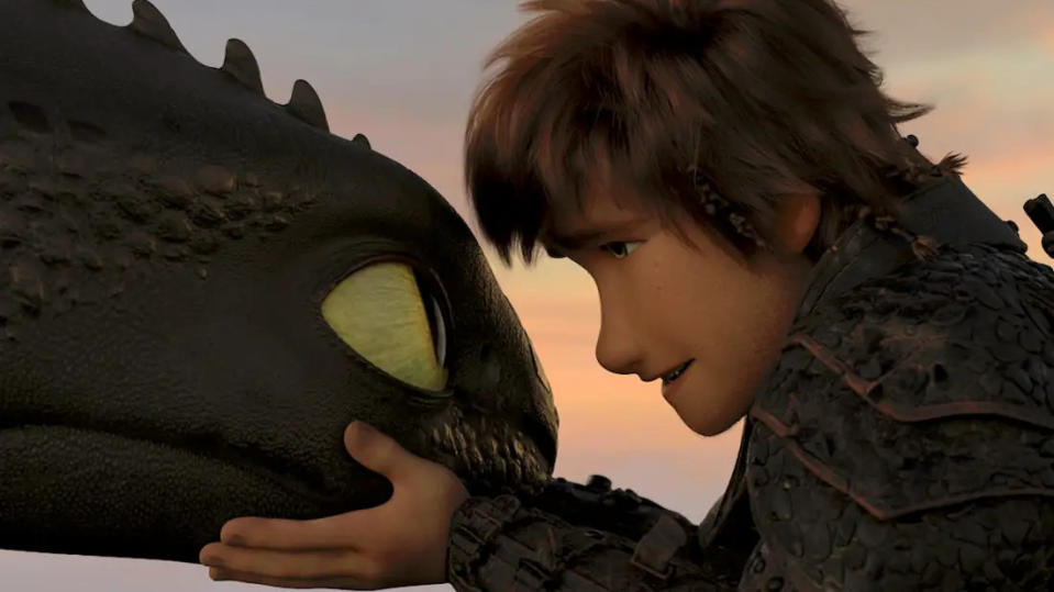 Toothless and Hiccup's friendship was at the heart of the 'How to Train Your Dragon' series. (Credit: Paramount)
