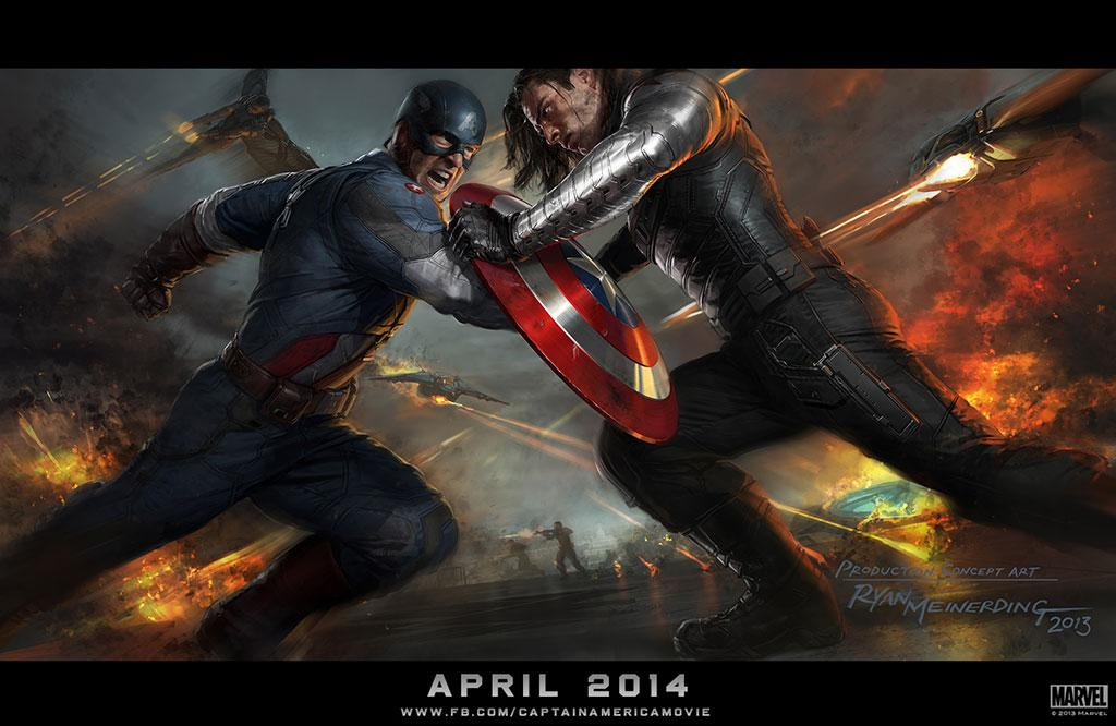 "Concept Art for Marvel Studio's ""Captain America: The Winter Soldier"" - 2014"