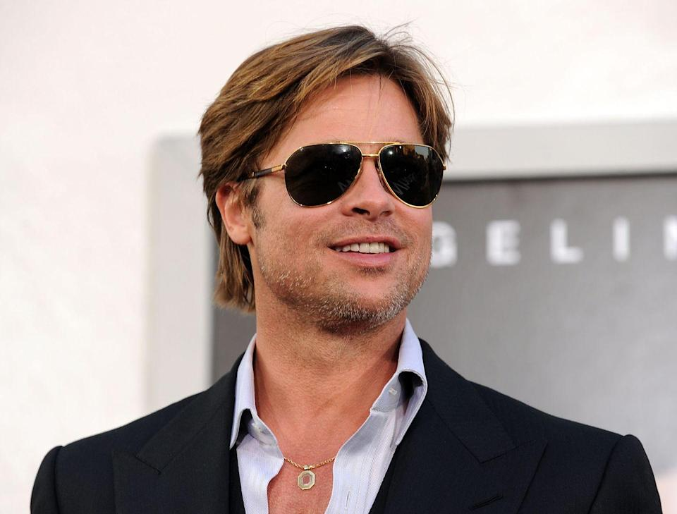 <p>No, I'm not talking just about the glasses. Something about this cut screams Tom Cruise vibes. Even with the wild missteps of the past, this is the first cut that makes Pitt seem a little...<em>old</em>. Even for the timeframe. Fortunately, this is not a look that holds.</p>