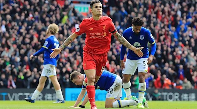FourFourTwos round-up of the Saturday action, as Liverpool won the Merseyside Derby and Crystal Palace upended Chelsea at Stamford Bridge.