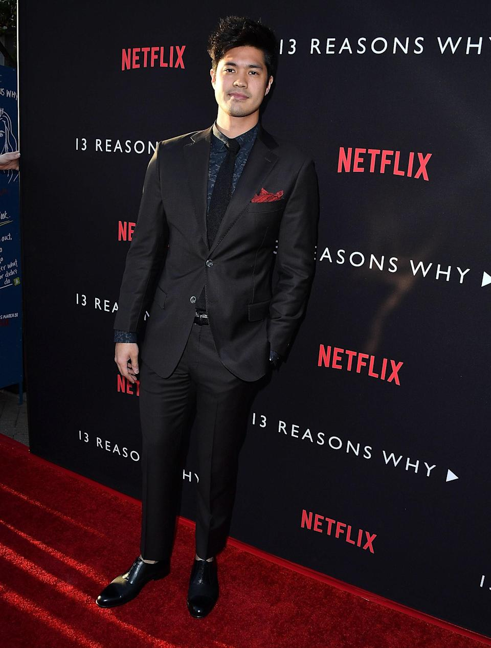 """Ross (aka """"the Original Reggie"""" on <em>Riverdale</em>) was born in Singapore to a Chinese-Malaysian mother. He's since left Riverdale High to continue his role in <em>13 Reasons Why</em> for its second season."""