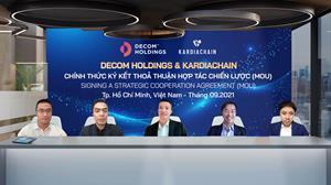 MoU signing ceremony between Decom Holdings and KardiaChain