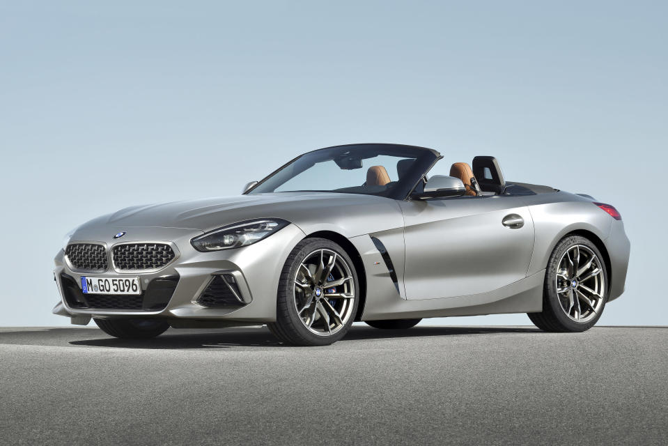 Caption: This photo provided by BMW shows the BMW Z4, a small luxury roadster. The Z4 offers a high-class interior and a choice between two powerful engines. (Bernhard Limberger/Courtesy of BMW of North America via AP)