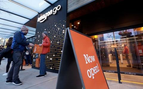 Amazon Go - Credit: AP