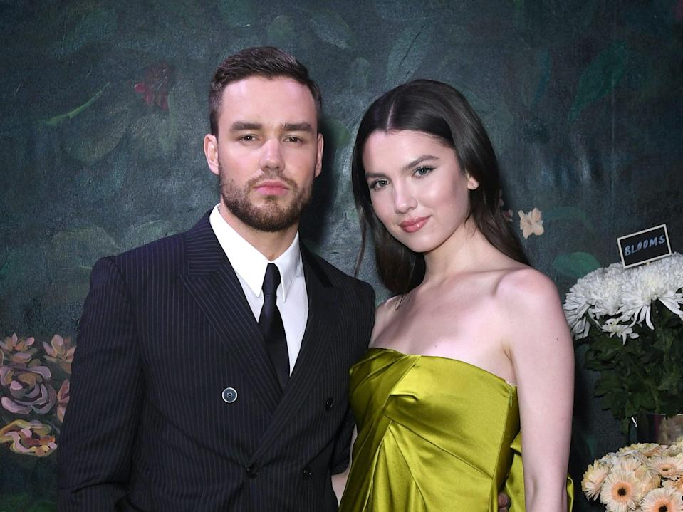 <p>Liam Payne and his former fiancee Maya Henry</p> (Stuart C. Wilson/Getty Images for The Business of Fashion)