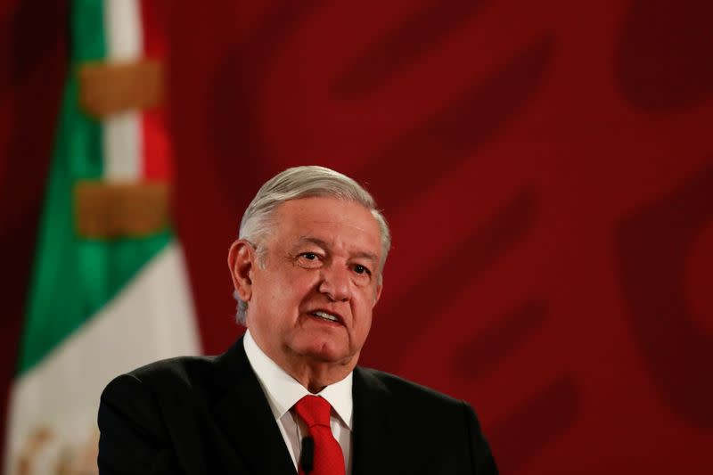 Mexico's president says will ask for planned gas pipeline to be rerouted