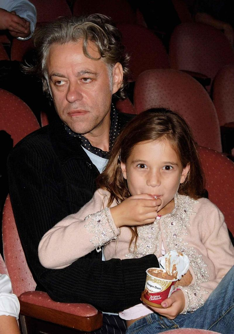 Michael's daughter Tiger Lily was raised by Bob Geldof. Pictured here in 2005. Source: Getty