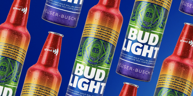 bc24f13d1a Bud Light Has Launched Rainbow Bottles for LGBTQ+ Pride