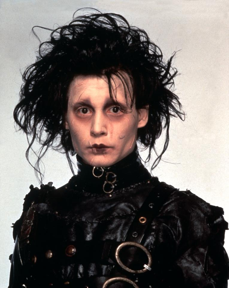 EDWARD SCISSORHANDS US 1990 C20TH FOX JOHNNY DEPP Date 1990, Photo by: Mary Evans/Ronald Grant/Everett Collection(10312117)
