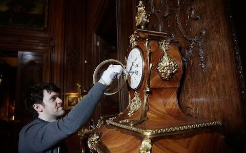 Matthew Waters is tasked with adjusting all the clocks at Waddeston Manor twice a year