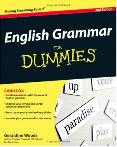 Cover of 'English Grammar for Dummies'