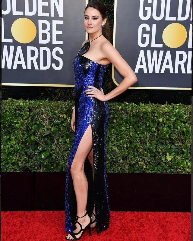 """<p>Actress <a href=""""https://www.cosmopolitan.com/uk/entertainment/a35444920/shailene-woodley-aaron-rodgers-engaged/"""" rel=""""nofollow noopener"""" target=""""_blank"""" data-ylk=""""slk:Shailene Woodley and NFL player Aaron Rodgers got engaged"""" class=""""link rapid-noclick-resp"""">Shailene Woodley and NFL player Aaron Rodgers got engaged</a> earlier this year. Aaron let the announcement slip during a live interview, when he referred to his """"fiancée"""". Of course, fans quickly put two and two together.</p><p><a href=""""https://www.instagram.com/p/B6_YaxWlqKG/"""" rel=""""nofollow noopener"""" target=""""_blank"""" data-ylk=""""slk:See the original post on Instagram"""" class=""""link rapid-noclick-resp"""">See the original post on Instagram</a></p>"""