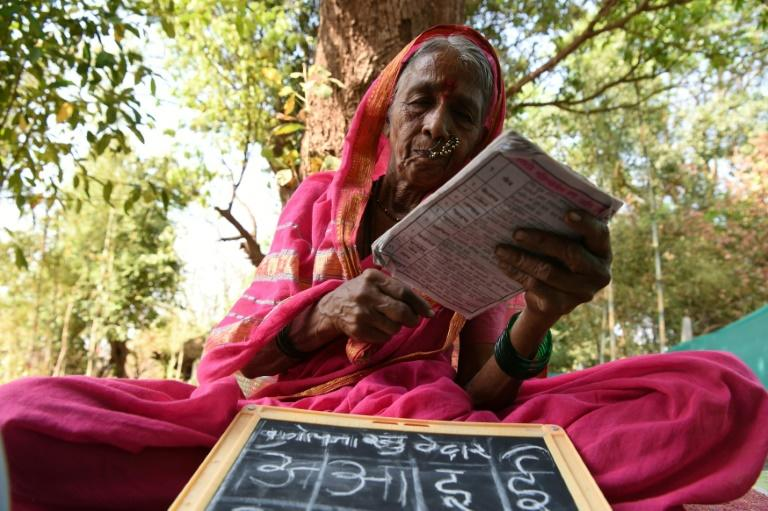 "The Aajibaichi Shala, or ""school for grannies"" in a village in Maharashtra gives elderly women an education they were denied as children"