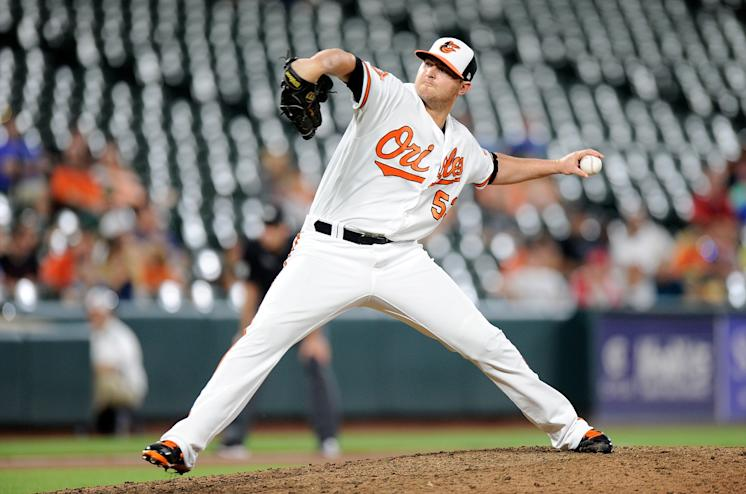 Zach Britton of the Baltimore Orioles blew his first save since Sept. 20, 2005 on Wednesday afternoon. (Getty Images)