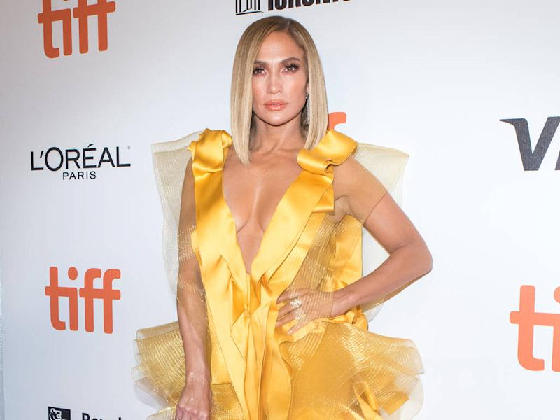 Jennifer Lopez had to be sewn into revealing bodysuit for Hustlers