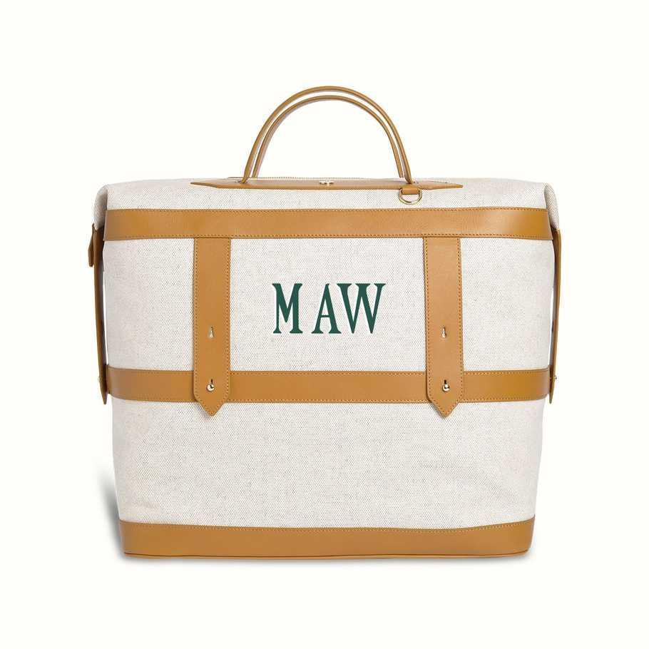 """Medical bags often sacrifice form for function, but this one's gorgeous. A zip-up bag that lets you store dirtied scrubs would be so helpful—plus if it's canvas, you can wash it and use it as a weekender once things get back to normal. <em>—Y.M.</em> $295, Paravel. <a href=""""https://tourparavel.com/products/weekender"""" rel=""""nofollow noopener"""" target=""""_blank"""" data-ylk=""""slk:Get it now!"""" class=""""link rapid-noclick-resp"""">Get it now!</a>"""