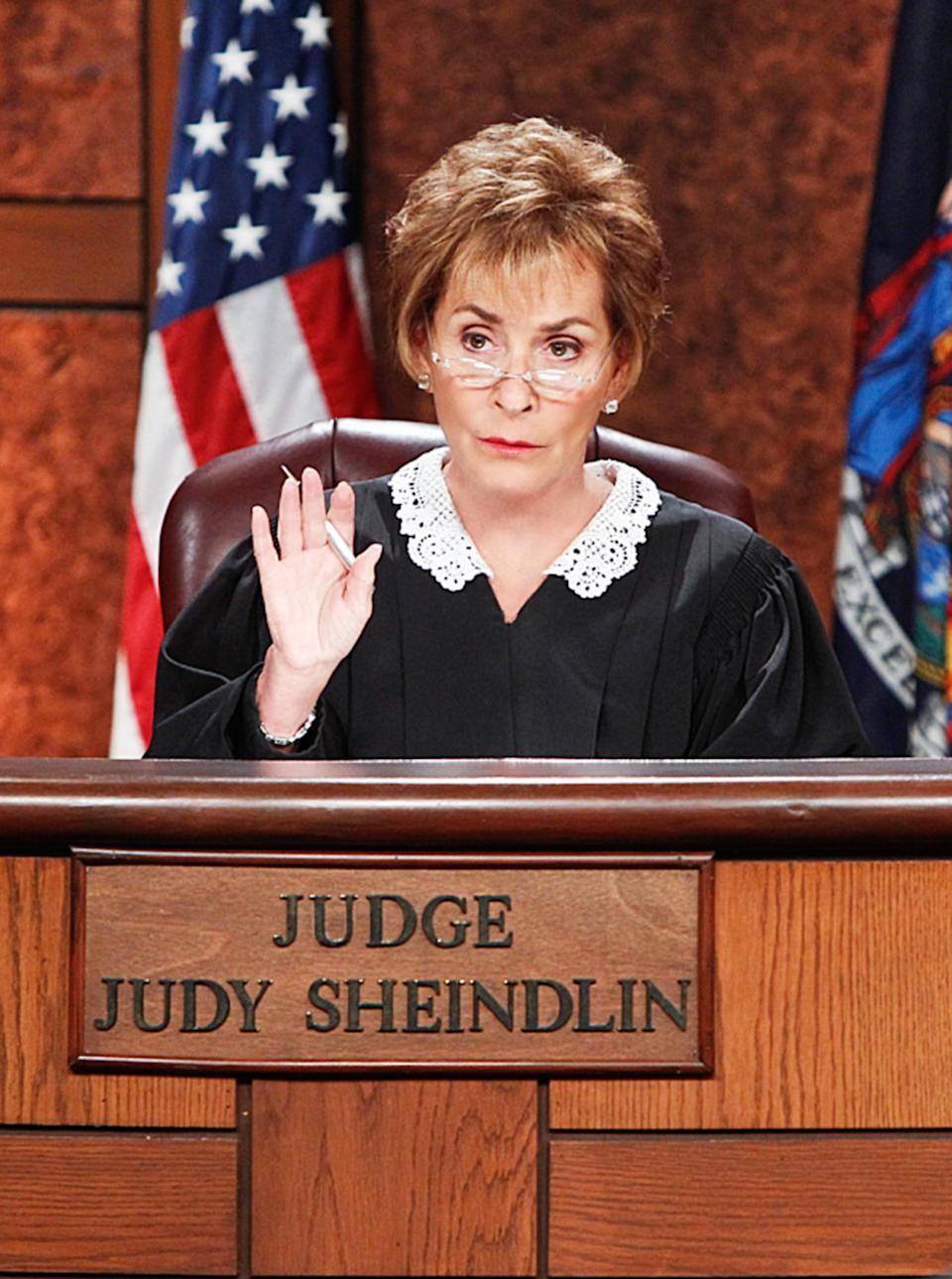 Judge Judy has become a smashing success. (Photo: CBS/Courtesy: Everett Collection)