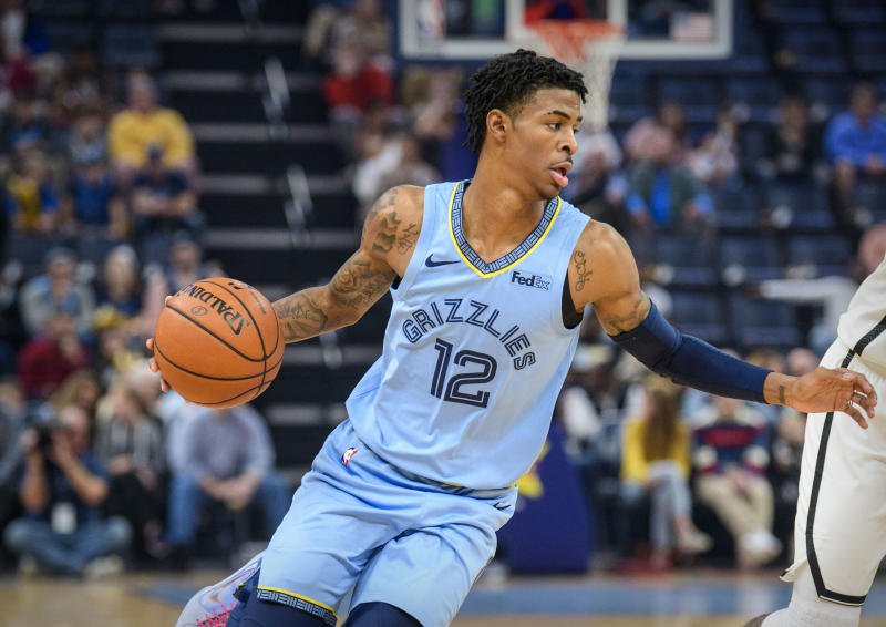 Ja Morant finally had his breakout game and it was spectacular