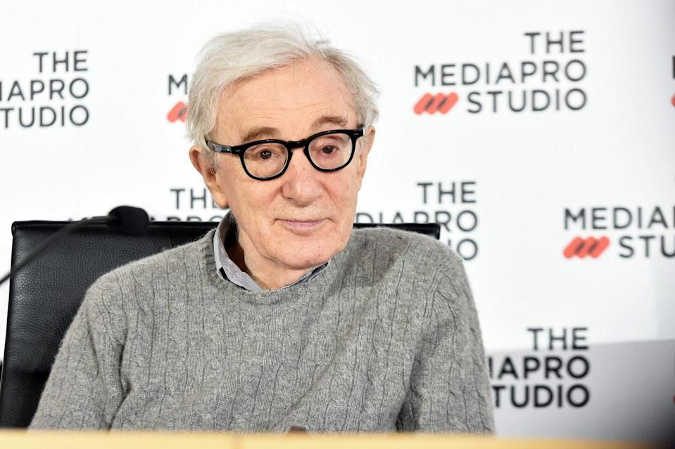 <p>Director Woody Allen won the Cecil B. DeMille Award in 2014.</p>