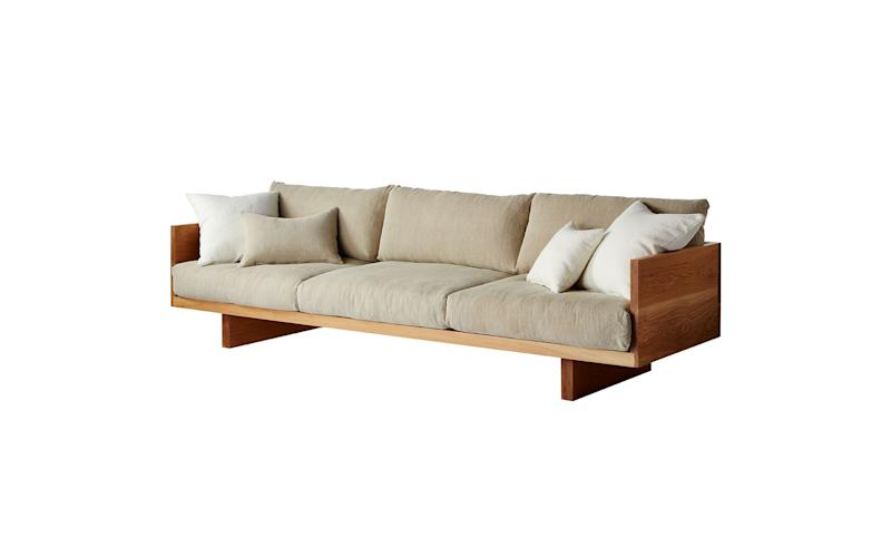 SHOP NOW: Plinth Sofa by Mark Tuckey, contact for pricing, marktuckey.com