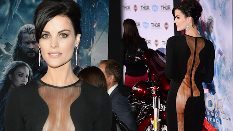 "Jaimie Alexander at the premiere of ""Thor: The Dark World"""