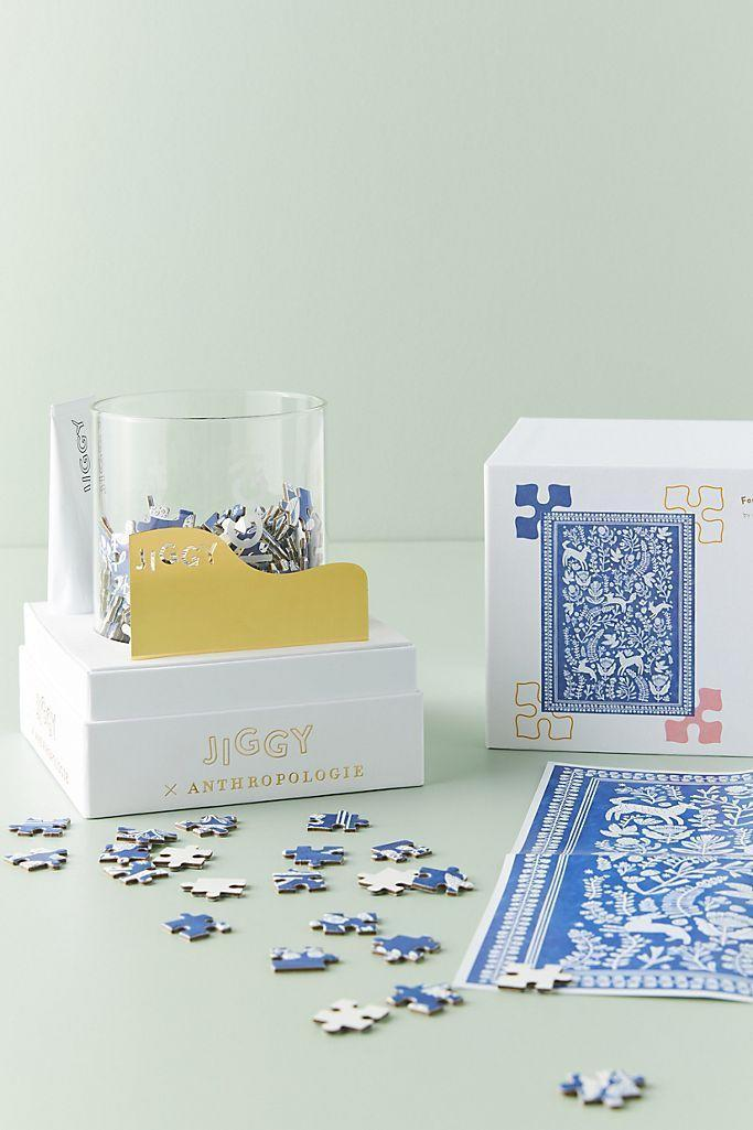 """<p><strong>Jiggy Puzzles Anthropologie</strong></p><p>anthropologie.com</p><p><strong>$29.95</strong></p><p><a href=""""https://go.redirectingat.com?id=74968X1596630&url=https%3A%2F%2Fwww.anthropologie.com%2Fshop%2Fjiggy-for-anthropologie-puzzle-and-glue-set&sref=https%3A%2F%2Fwww.goodhousekeeping.com%2Fholidays%2Fgift-ideas%2Fg29589435%2Fbest-gifts-for-artists%2F"""" rel=""""nofollow noopener"""" target=""""_blank"""" data-ylk=""""slk:Shop Now"""" class=""""link rapid-noclick-resp"""">Shop Now</a></p><p>With the help of their family and friends, they can arrange all 450 puzzle pieces and then glue them together for display-worthy wall art. Bonus: Each design highlights an up-and-coming female artist, which you know your budding artist will appreciate.</p>"""