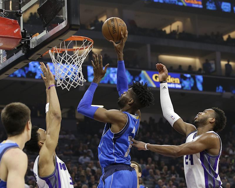 Nerlens Noel should be a big part of the Mavs' future. (AP)