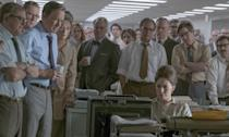 <p>Living in the era of Trump surely contributed to the interest in this essentially nerdy but fascinating procedural from Steven Spielberg, about the publication of the top-secret Pentagon Papers in 1971 starring Tom Hanks and Meryl Streep. </p>