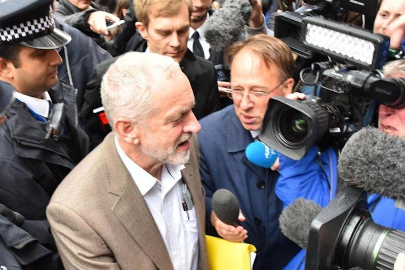 Jeremy Corbyn squirms most under Crick's spotlight (Alamy Stock Photo)