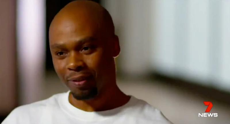 Valentino Dixon (pictured) was wrongly accused of murder