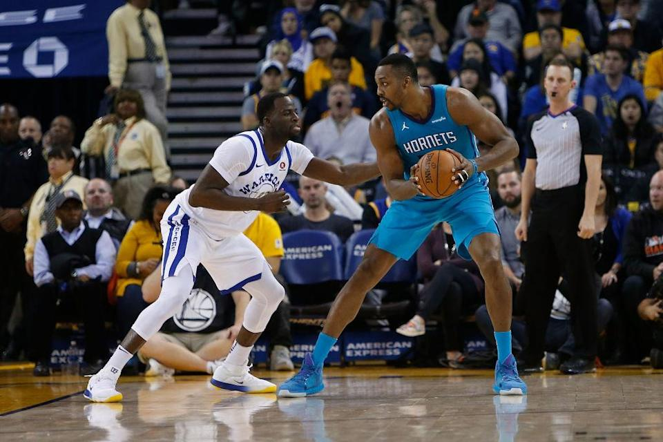 Dwight Howard put up 29 points, 13 rebounds and seven assists against the Warriors on Dec. 29. (Getty Images)